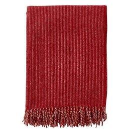Klippan plaid Shimmer Red