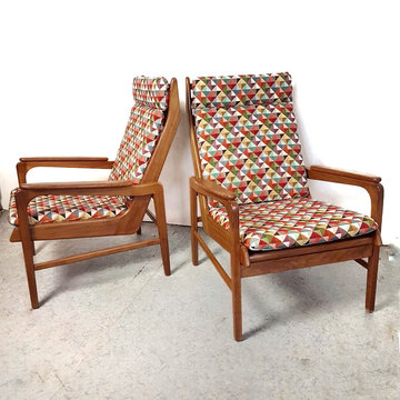 Vintage fauteuils in de stijl van Rob Parry