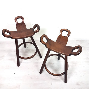 Vintage barkrukken