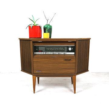 Vintage radiokastje