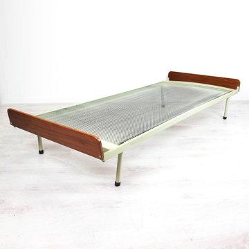 Vintage bed, eenpersoons