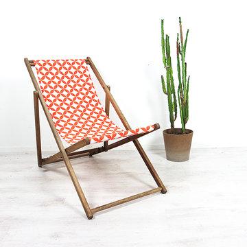 Vintage strandstoel