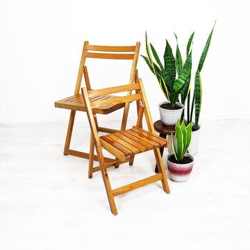 Vintage klapstoel, volwassenen
