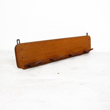 Vintage houten kapstok