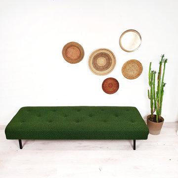 Vintage daybed, groen