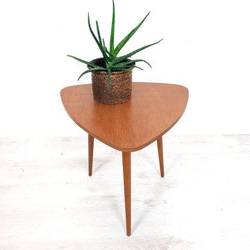 Vintage driehoek tafeltje