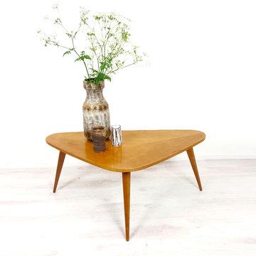 Vintage driehoekige salontafel