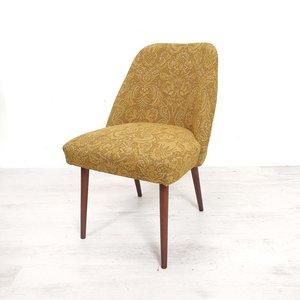 Vintage stoeltje, barok stof