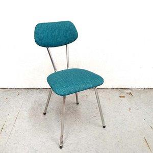 Vintage Brabantia stoeltje, opnieuw gestoffeerd