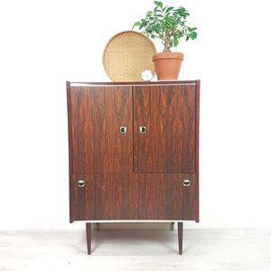 Vintage kast, palissander fineer