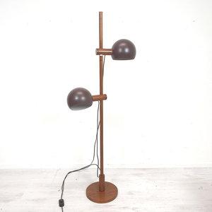Vintage staande bollenlamp