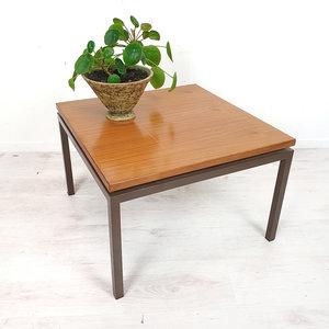 Vintage vierkante salontafel