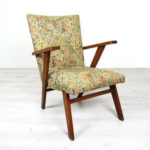 Fauteuil Met Bloemenstof.Vintage Bloemen Fauteuil Webshop En Winkel Voor Toffe En