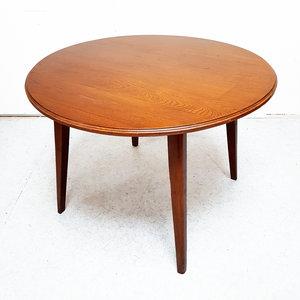 Vintage Ronde Tafel.Vintage Ronde Eettafel
