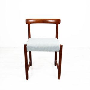 Vintage stoel, opnieuw bekleed