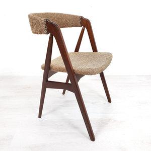 Vintage stoel met armleuningen