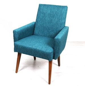 Vintage hoge fauteuil