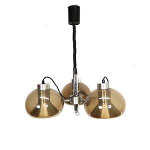 Vintage hanglamp drie bollen