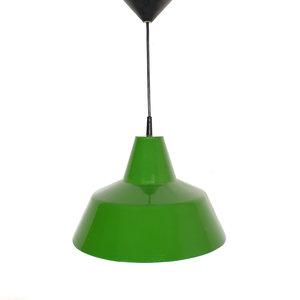 Vintage groene hanglamp