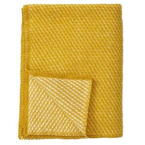 Klippan ledikantdeken Velvet Yellow