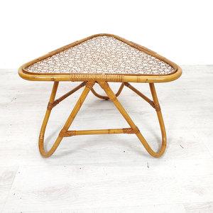 Vintage rotan tafeltje