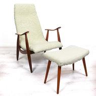Vintage fauteuil, furry!