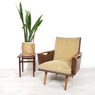 Vintage fauteuil, originele bekleding