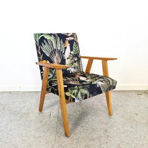 Vintage fauteuiltje, nieuwe stoffering