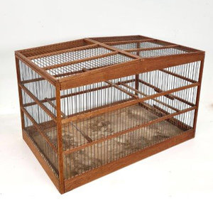 Vintage vogelkooi